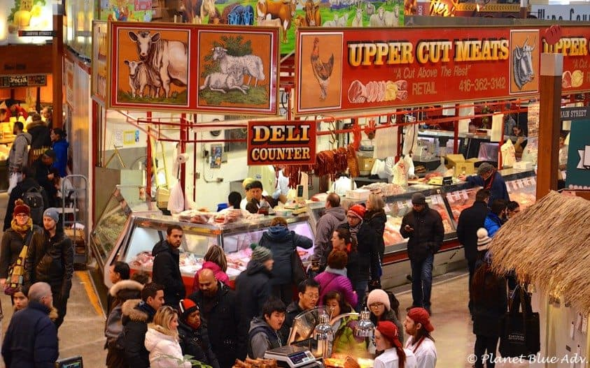 St Lawrence market upper cut meats