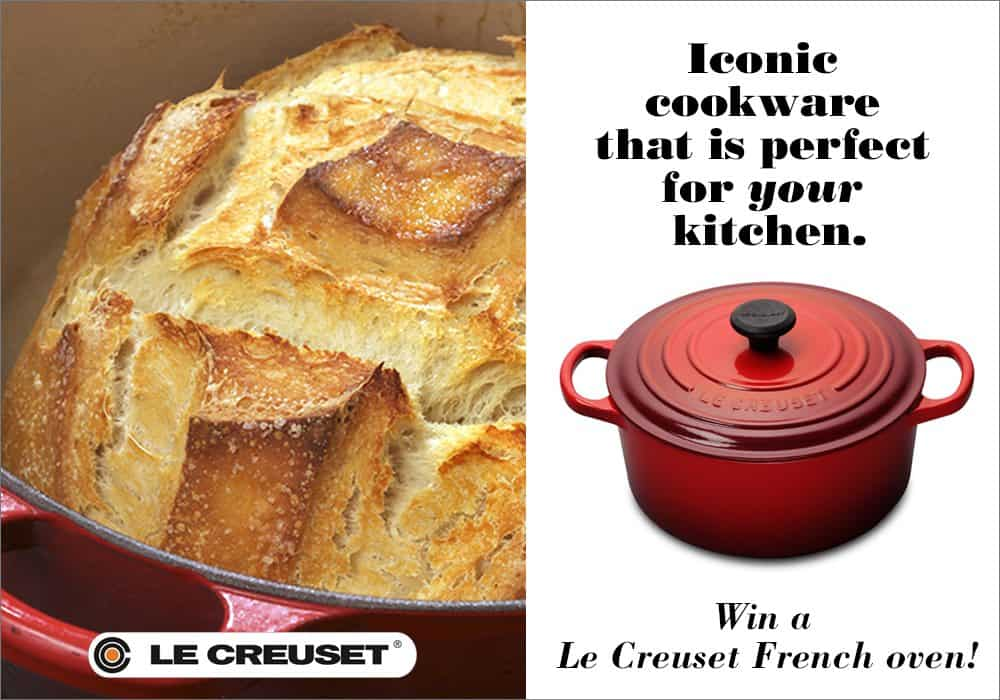 Le Creuset French Oven Giveaway