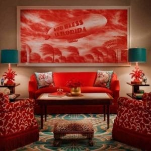 Faena Hotel Room, Miami Beach